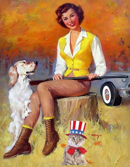 Patriotic Pinup Mayo Olmstead