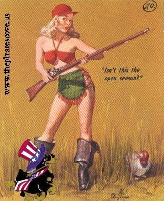 Gil Elvgren patriotic pinup