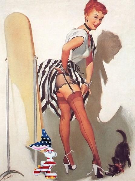 patriotic pinup joyce ballentyne