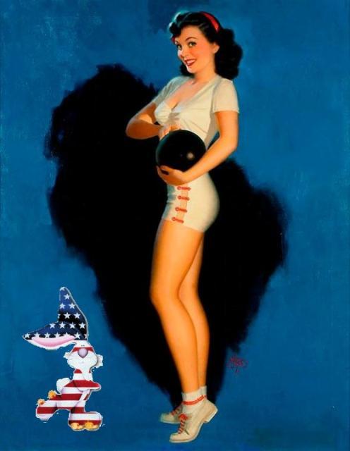 patriotic pinup Walt Otto