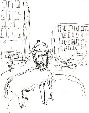 Lars Vilks Muhammed cartoon