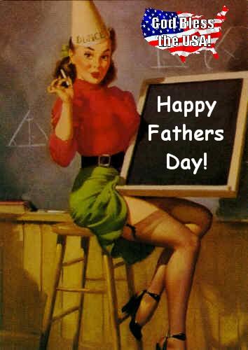 Gil Elvgren Fathers Day