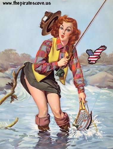 patriotic pinup vaughn bass
